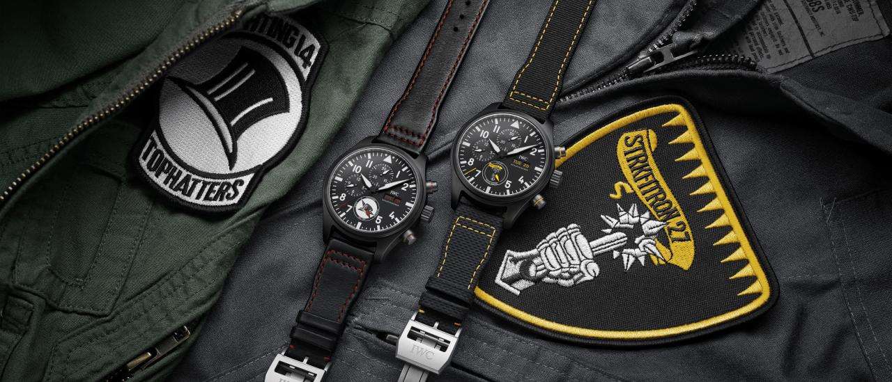 Ontdek hier de 3 nieuwe IWC Pilot's Watch Chronograph U.S. Squadrons modellen!