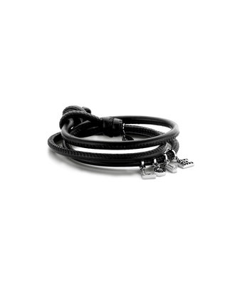 Schaap en Citroen Armband Cuoio bedels