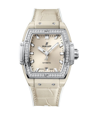 Hublot Horloge Spirit of Big Bang 39mm Beige Diamonds 665.CZ.891B.LR.1204