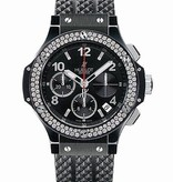Hublot Big Bang Chronograph Black Magic Diamonds 41mm (342.CV.130.RX.114)