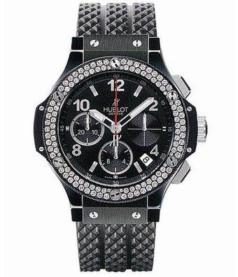 Hublot Horloge Big Bang 41mm Chronograph Black Magic Diamonds 342.CV.130.RX.114