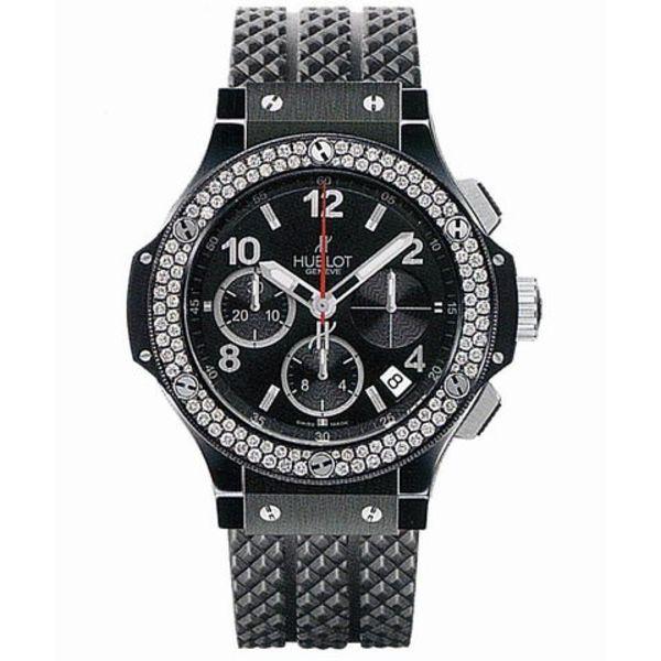 Big Bang Chronograph Black Magic Diamonds