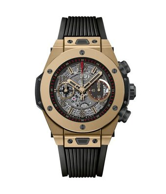 Hublot Horloge Big Bang Unico 45mm Full Magic Gold Chronograph 411.MX.1138.RX