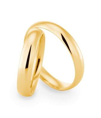 Christian Bauer Wedding Rings 18 Carat Yellow Gold  [29140 / 29140]