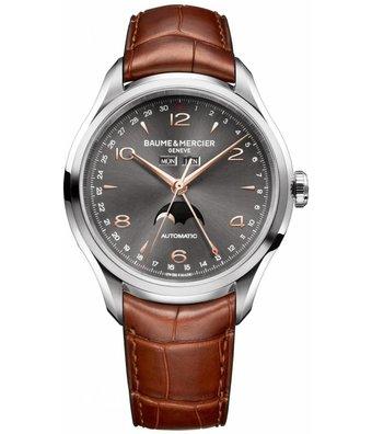 Baume & Mercier Horloge Clifton 43mm Dual Time M0A10213