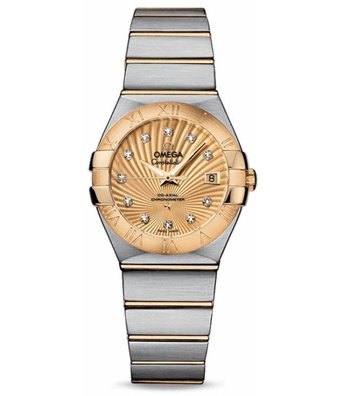Omega Horloge Constellation 27mm Co-Axial Ladies 123.20.27.20.58.001