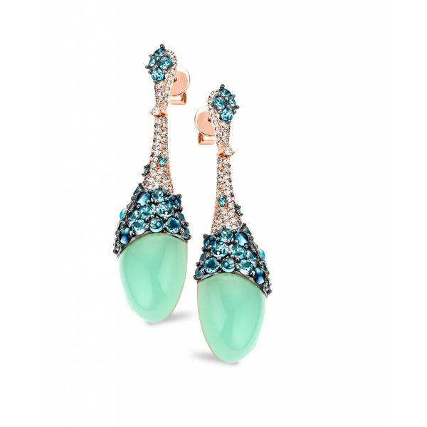 Earring Drops Doha Aqua Blue Topaz