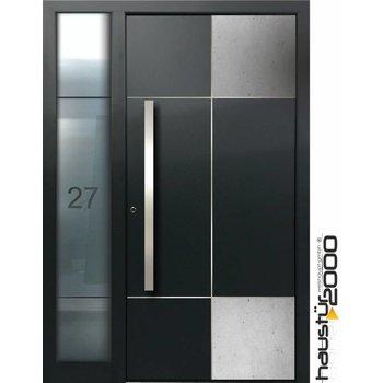 Aluminium door HT 9350 FA CONCRETE