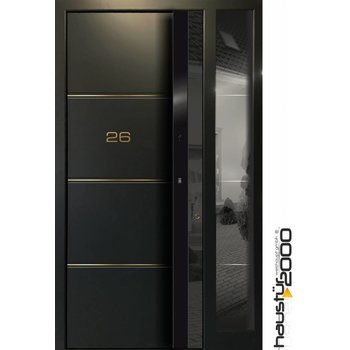 Aluminum door HT 5444 RS LINE