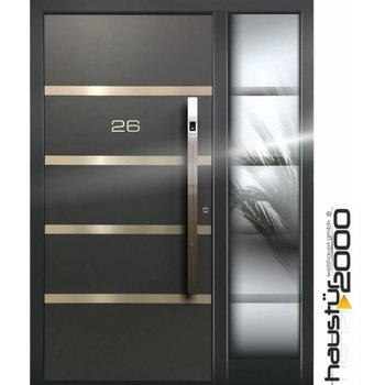 Aluminum door HT 5420.2 FA SF