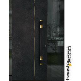 Haustür2000 Aluminium Haustür CERAMICA CW-901 RS SF GOLD Edition