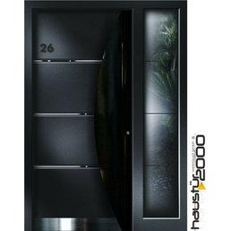Haustür2000 Aluminium Haustür HT 5448 HL SF