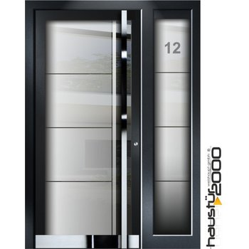 Haustür2000 Aluminium Haustür HT 5410 GLA SF