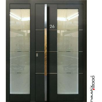 Haustür2000 Aluminium Haustür HT 6550 HL SF