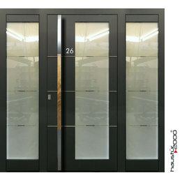 Haustür2000 Aluminium Haustür HT 6550 HL SFF