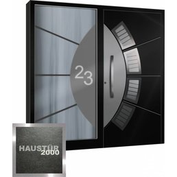 Aluminium Haustür HT 5607 SF BFD