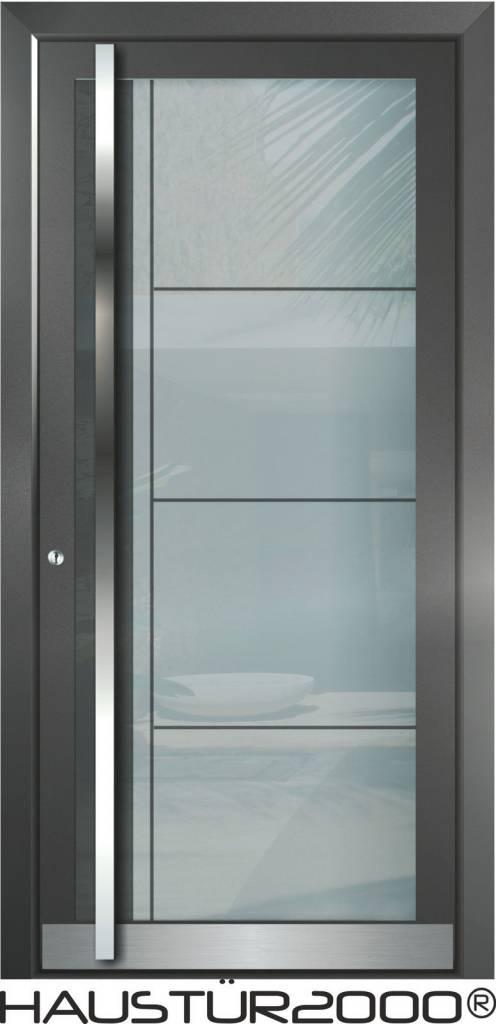 Aluminium Haustür HT 5410 GLA - haustuer2000.de