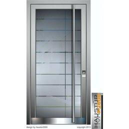 Aluminium Haustür HT 5471.2 GLA