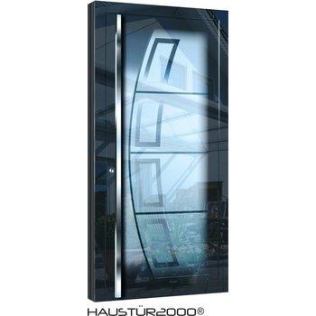 Aluminium door HT 5457 GLA HL