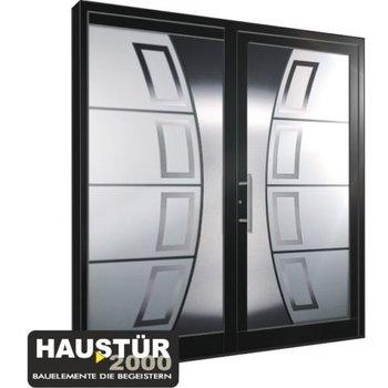 Aluminium Haustür HT 5457 GLA SF
