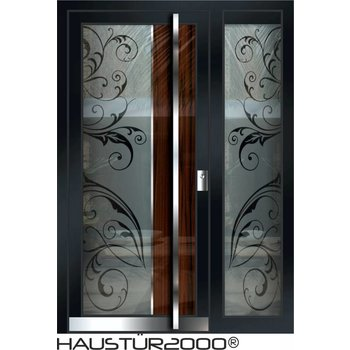 Aluminium door HT 551 GLA SF