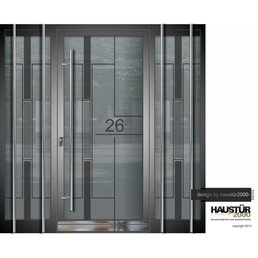 Aluminium door HT 5479 GLA 2SF