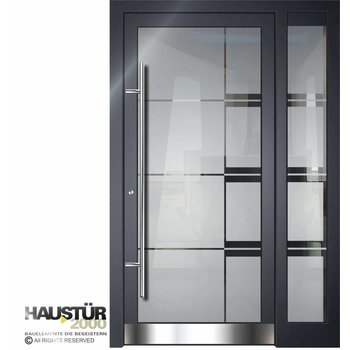 Aluminium door HT 5502 GLA SF