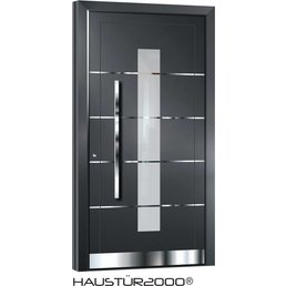 Aluminium door action door