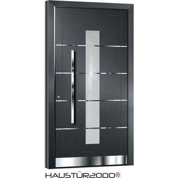 Aluminium door action door