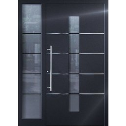 Aluminium door action model SF2