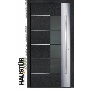 Aluminium door Model HT 6341 FA