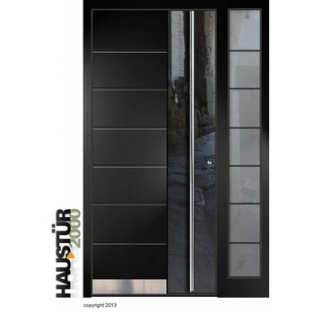 Aluminium Haustür HT 7323.3 SF FA