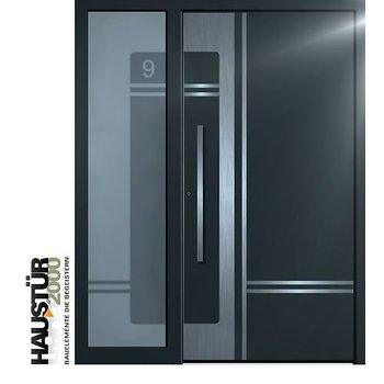 Aluminium Haustür HT 6323 SF FA