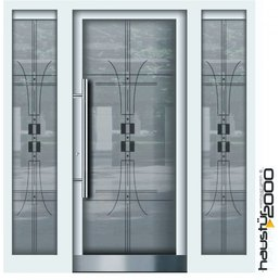 Aluminium door HT 5487 GLA 2SF