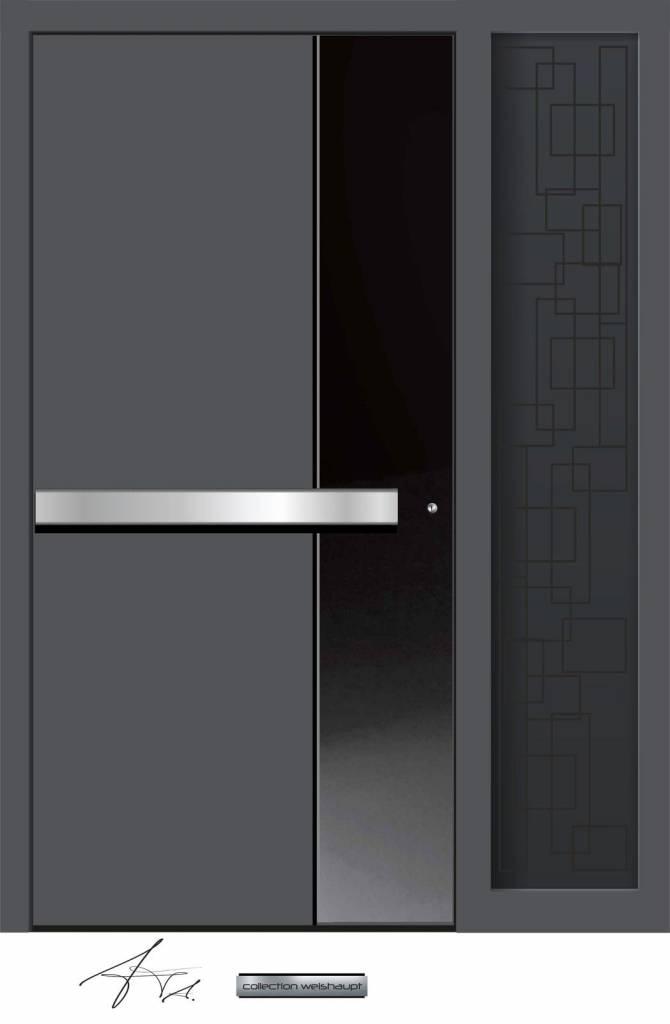 Aluminium Haustür CW-460 SF