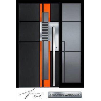 Aluminium Haustür CW-455 SF
