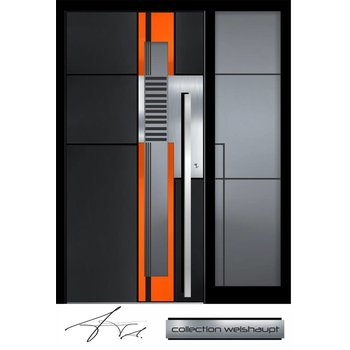 Aluminum door CW 455 SF