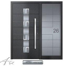 Aluminium Haustür CW-452 SF