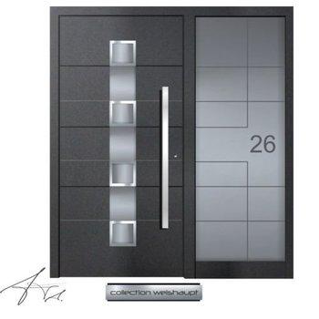 Aluminum door CW 452 SF