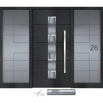 Aluminum door CW 452 SFF