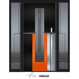 Aluminum door CW 457 SFF
