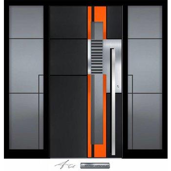 Aluminum door CW 455 SFF