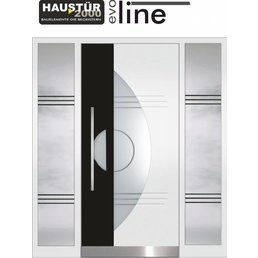 Aluminum door HT 6004 BFD 2SF
