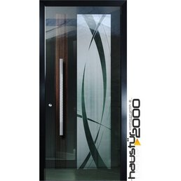 Aluminum door HT 6515 SP wing Covering the