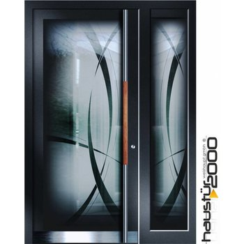 Aluminum door HT 6515 GLA SF