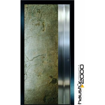 Aluminium Haustür HT 5417.8 GL Edelstahl