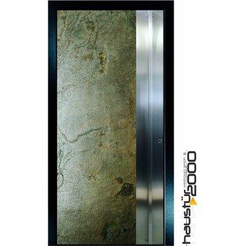 Aluminum door HT 5417.8 GL Stainless Steel