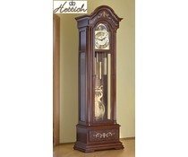 Hettich Uhren Exclusivo Grandfather Clock No.38-50 lacado nogal con marquetería con incrustaciones hechas en el Bosque Negro