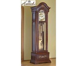 Hettich Uhren Exclusieve Grandfather Clock No.38-50 walnoot gelakt met ingelegde inlegwerk in het Zwarte Woud gemaakt Afmetingen: 208x65x35cm