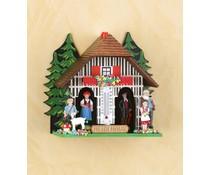 Trenkle Uhren Heidi weer huis gemaakt Nr.832 12cm hoog in het Zwarte Woud